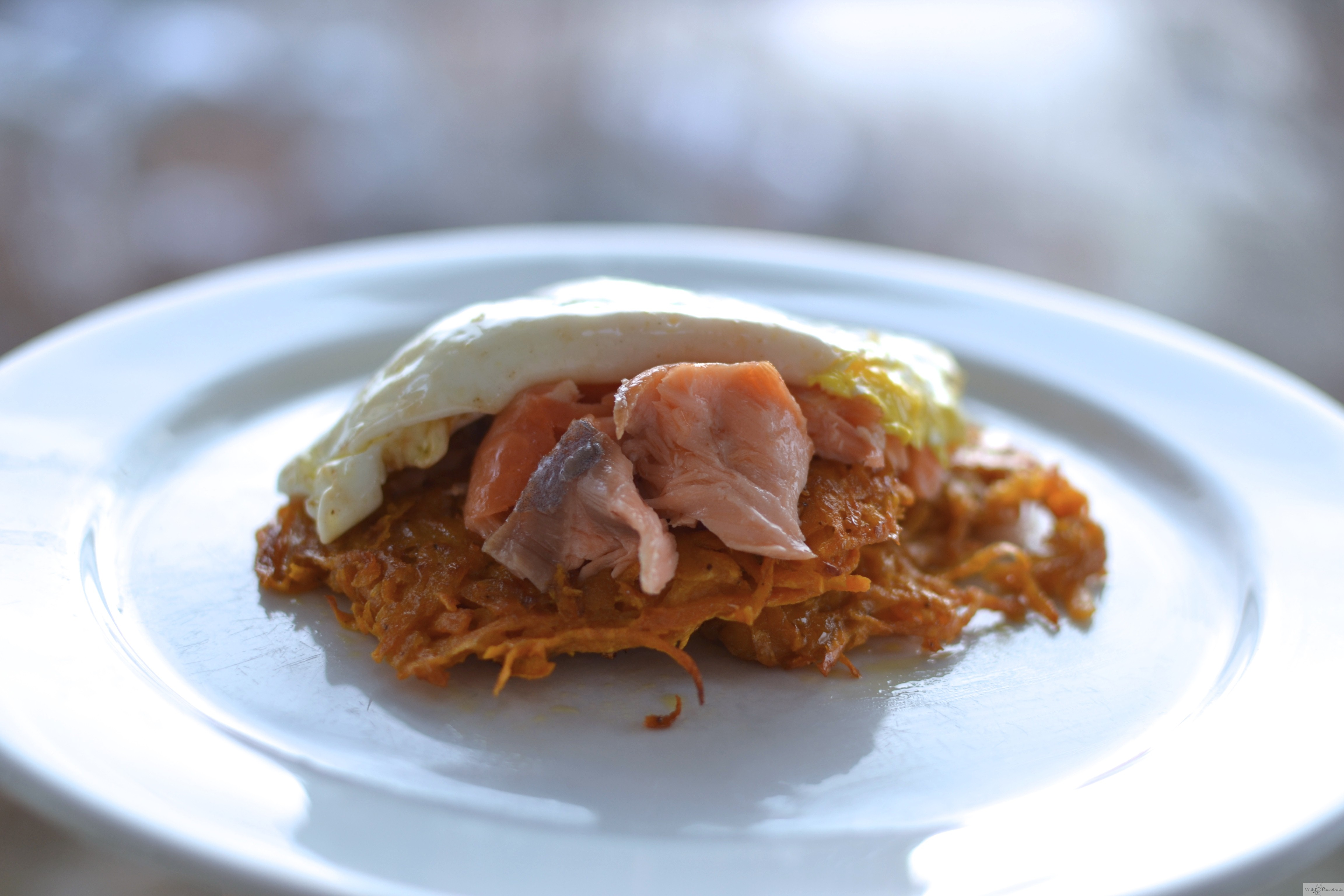 Smoked Salmon Latkes for A New Year