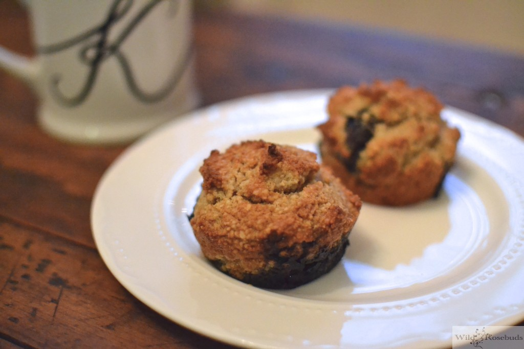 Wildrosebuds.com: Paleo Blueberry Muffins