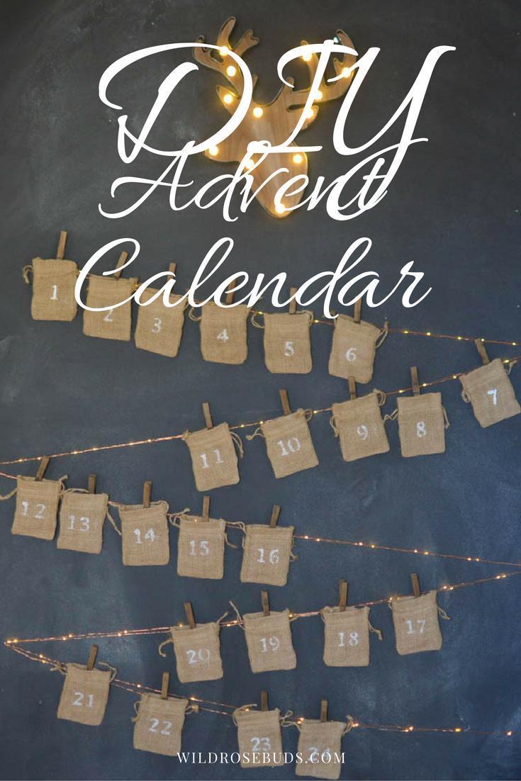 How To: Make a DIY advent calendar