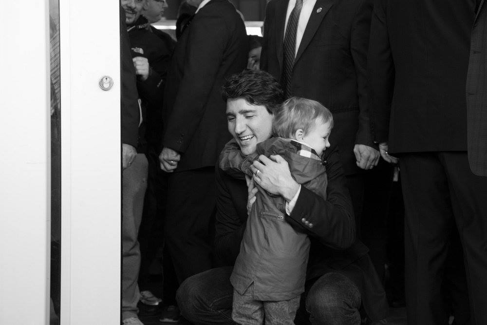 The Day We Met Justin Trudeau