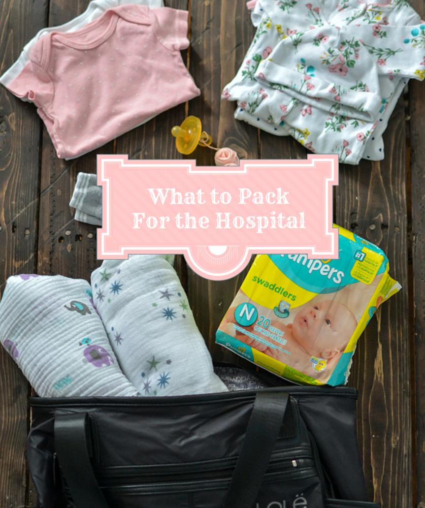 Whats In My Hospital Bag and a Pampers Giveaway