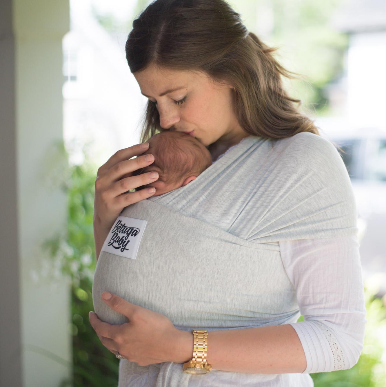 Wild Rosebuds on Babywearing with the Beluga Baby Wrap