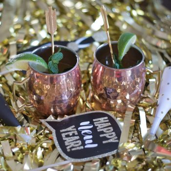 Peach Kentucky Mule Cocktails