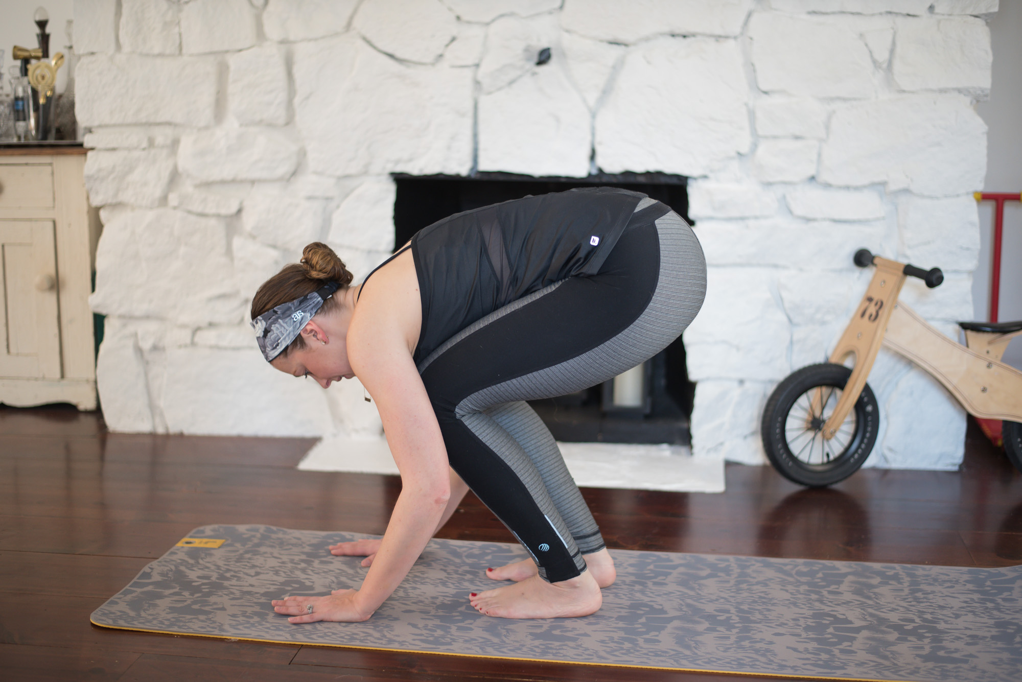 Wild Rosebuds January Easy 20 minute at home mom friendly workout, no equipment necessary.