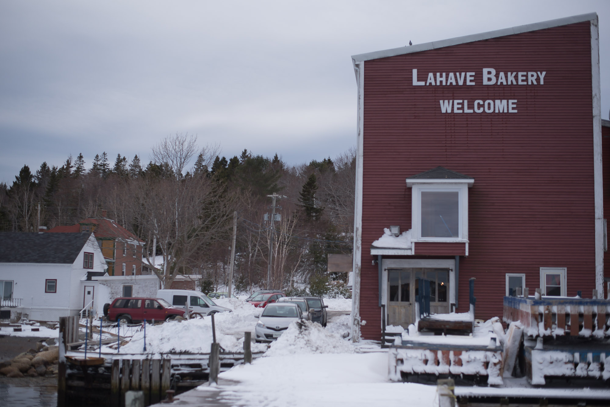 Our Family Day Long weekend trip to Lahave Bakery, Nova Scotia