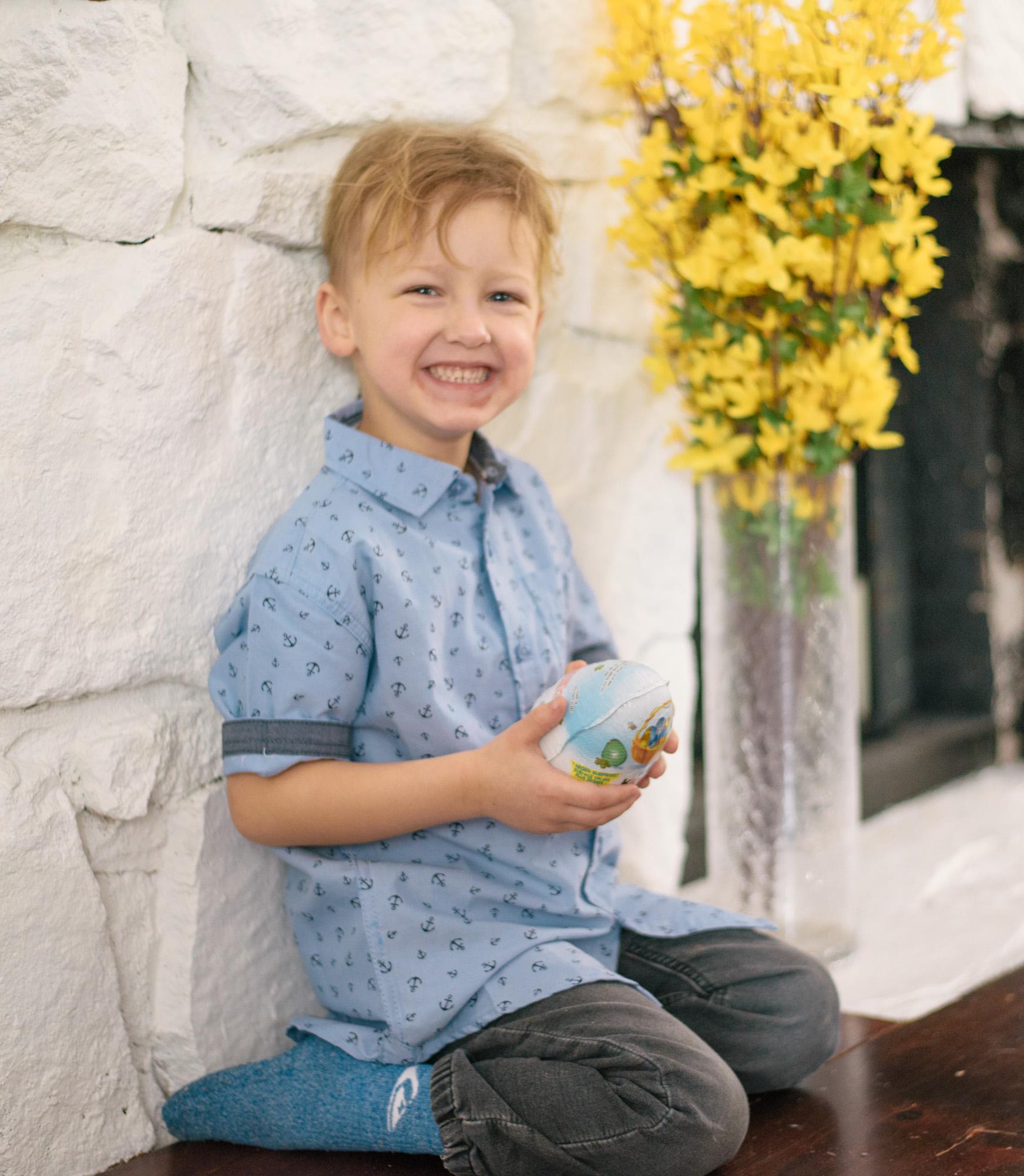 Wild Rosebuds Surprise them back with Kinder Surprise