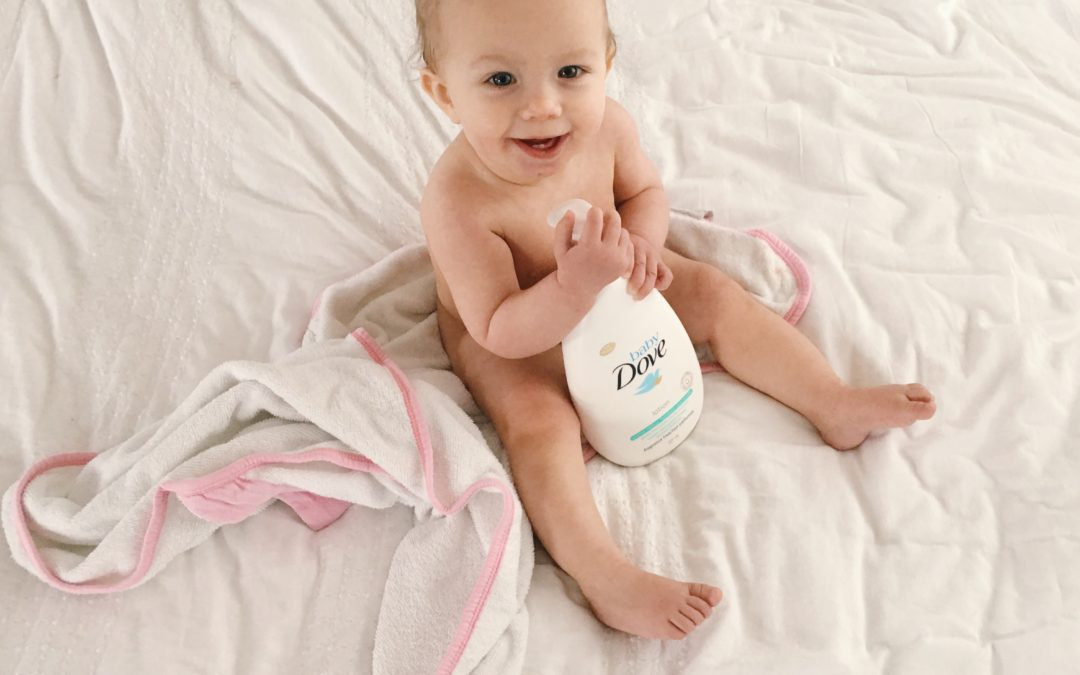 Calming the Kids' Skin with Baby Dove
