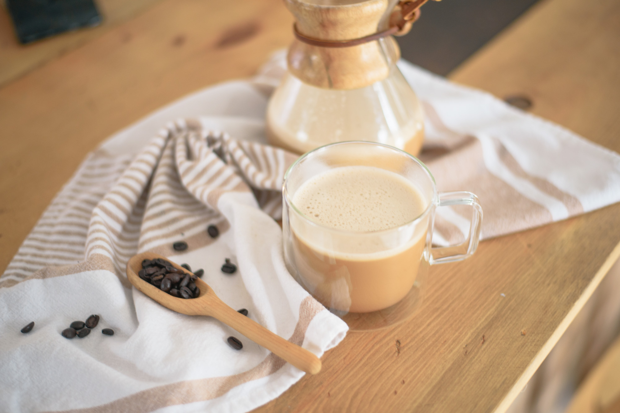 Paleo Bullet Proof Coffee Latte