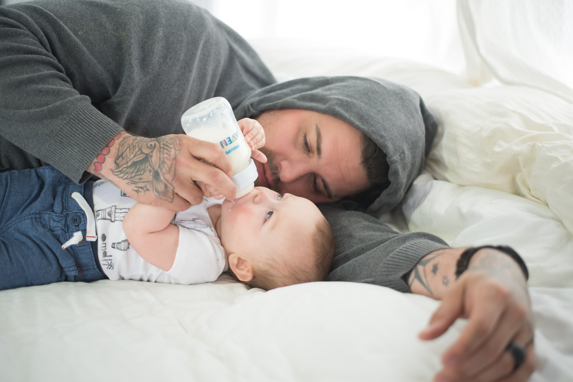 Wild Rosebuds: Weening Poppy with The Help Of Philips Avent Anti-Colic Bottles