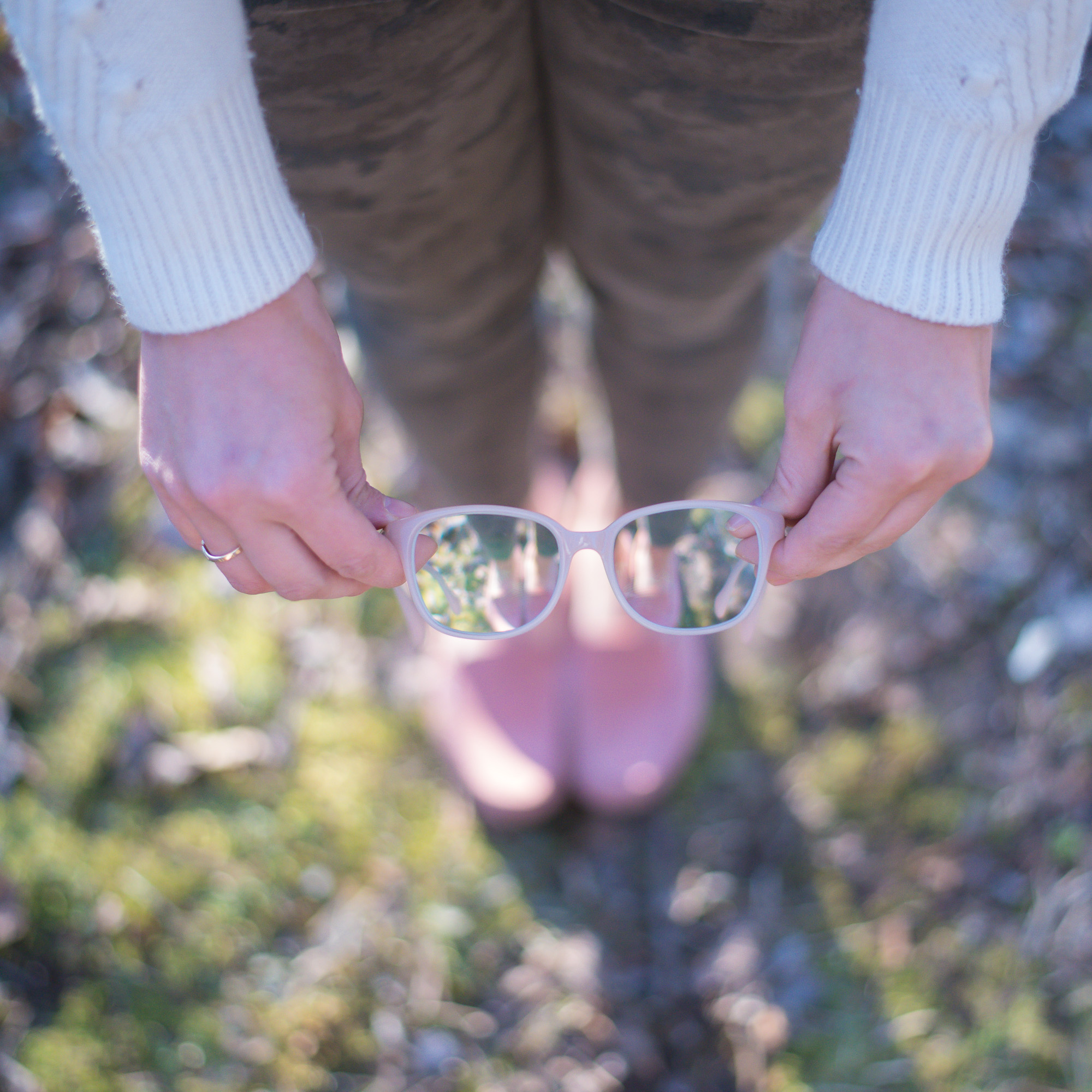 Wild Rosebuds: Glasses TRends with Clearly.ca for Allergy Season