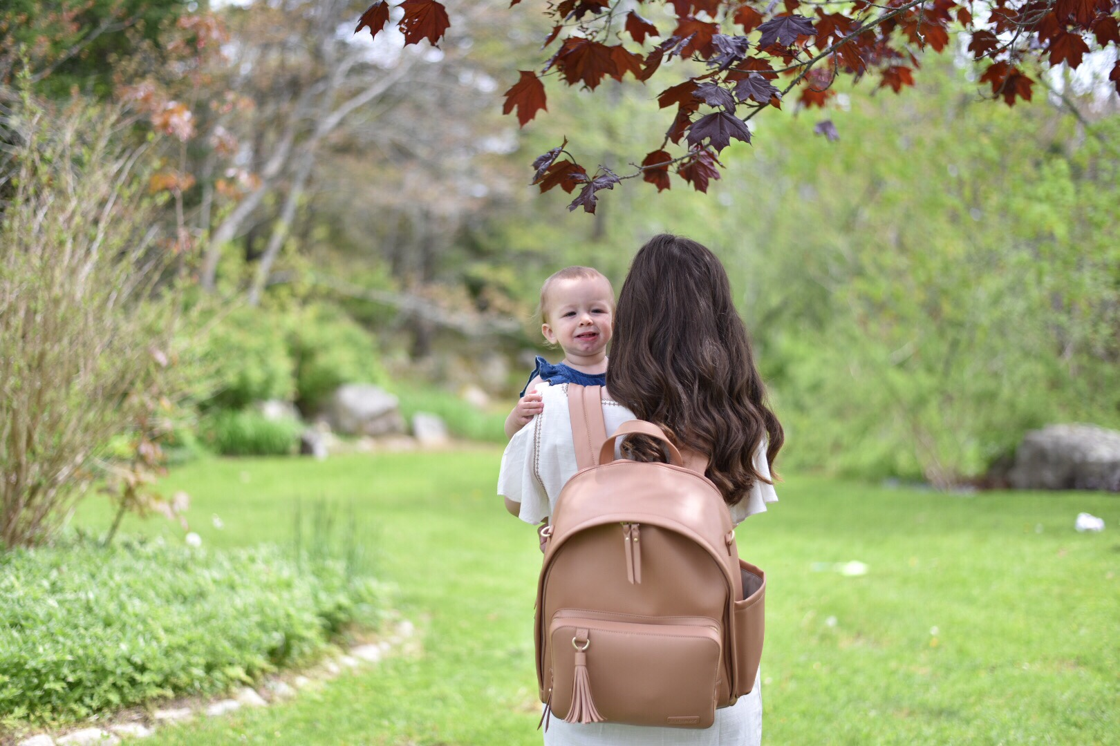 Wild Rosebuds Vlog review if Skip Hop's new Greenwich backpack diaper bag