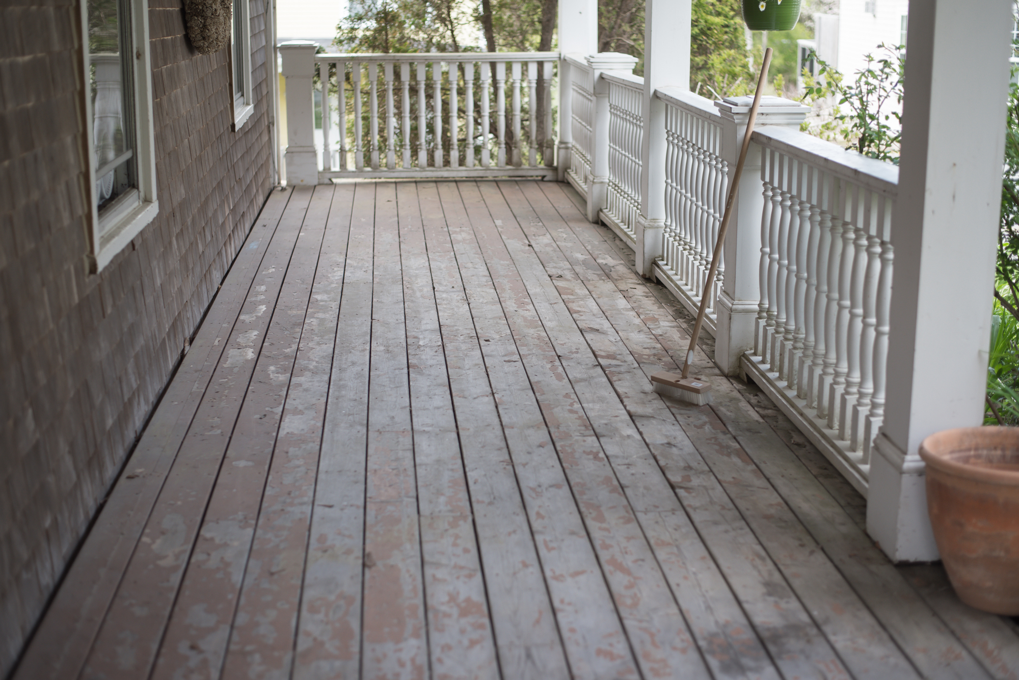 Wild Rosebuds: Re-Finishing our Deck with Premier Paint By Canadian tire and % things you need to know before you re-paint your deck.