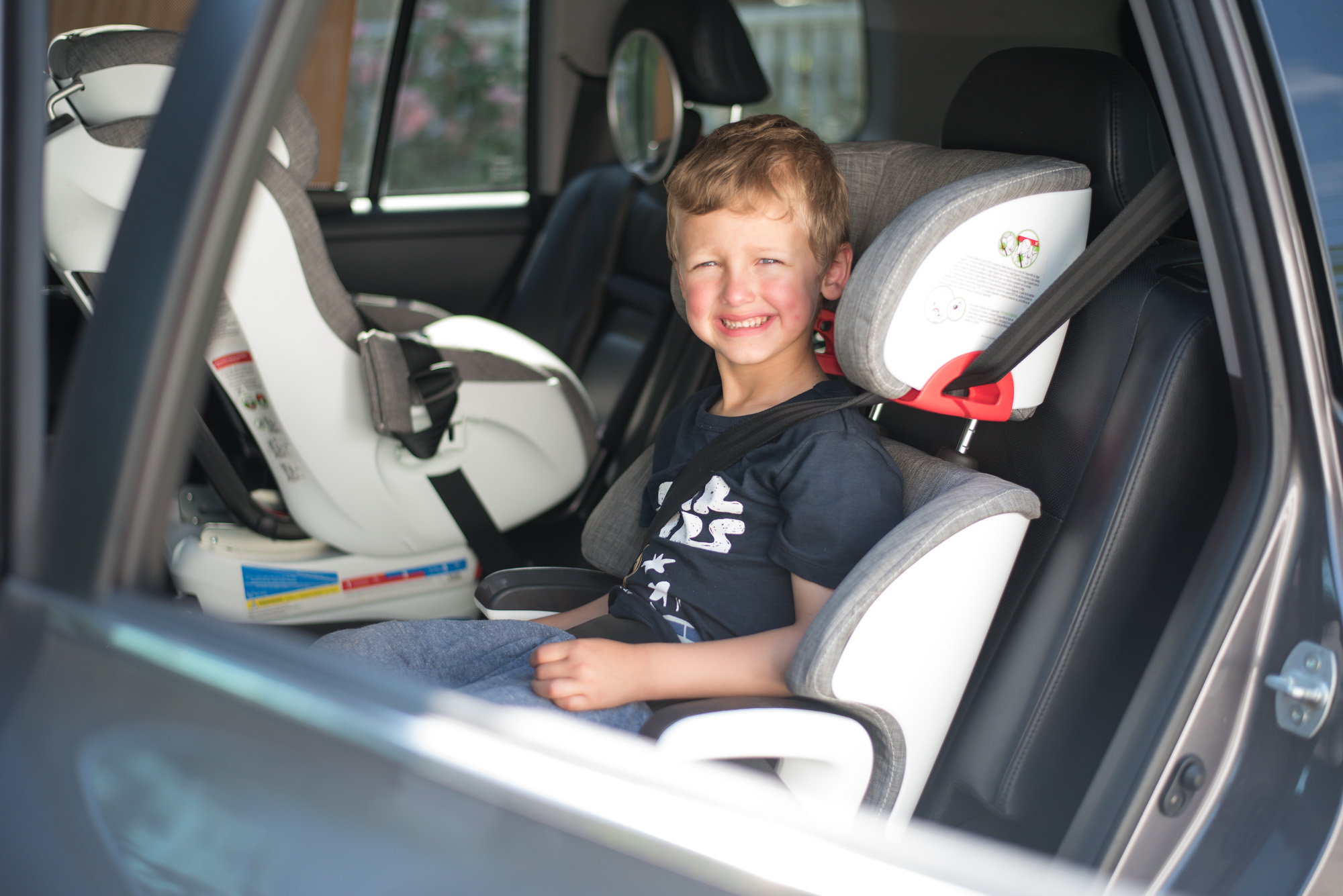 Wild Rosebuds Review of the Clek Oobr High back Booster seat