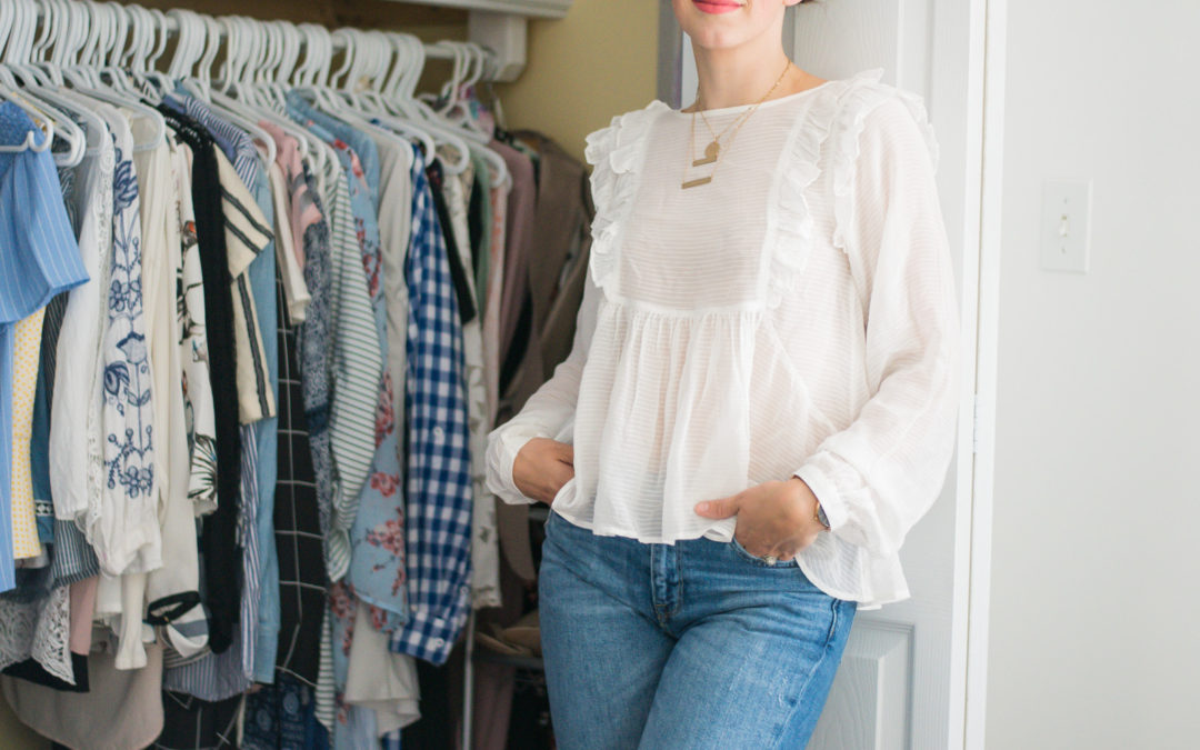 How I Purge My Closet with H&M