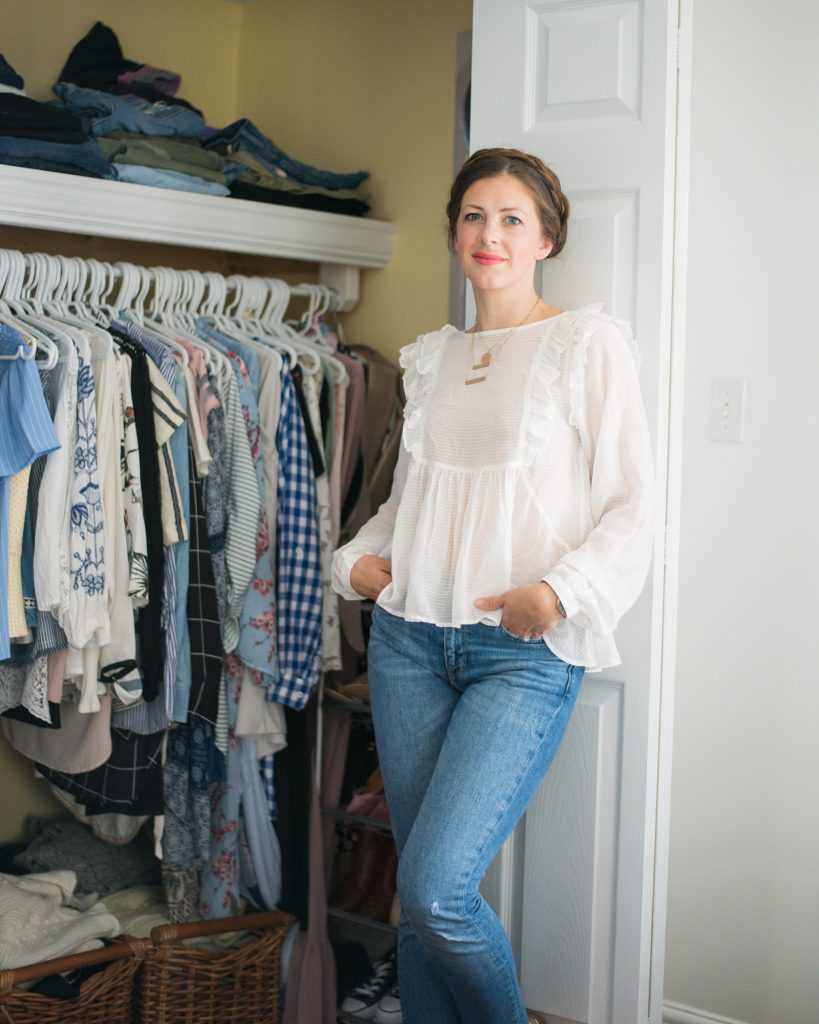 How I Purge My Closet with H&M