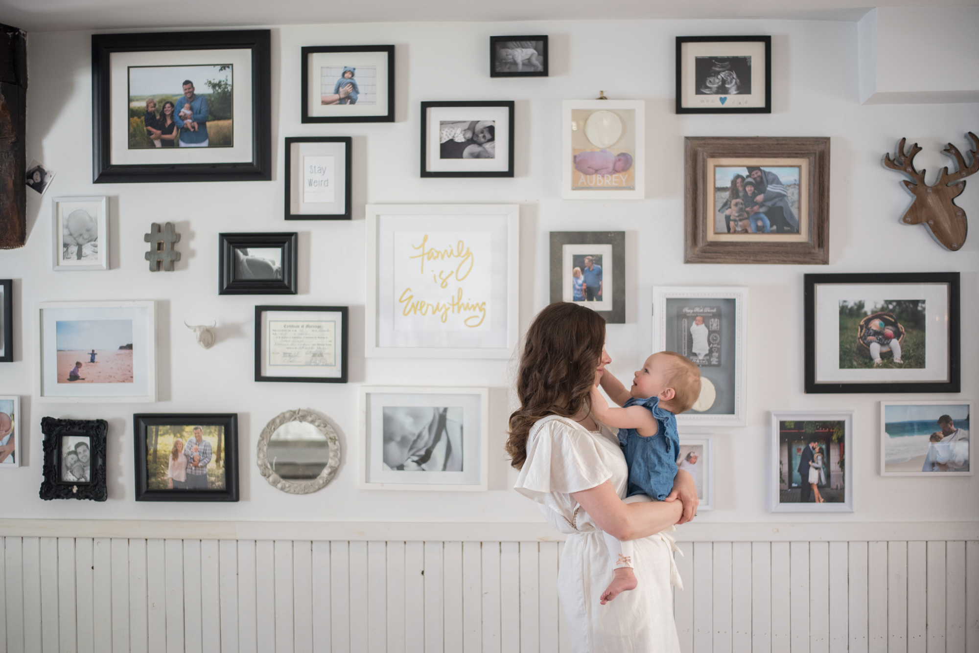 Wild Rosebuds: Home tour with HGTV.ca Photo Gallery Wall