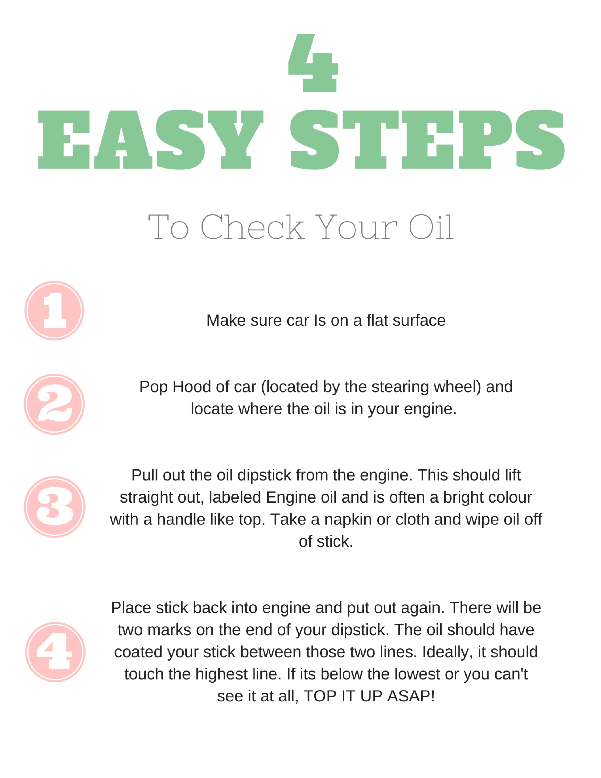 Wild Rosebuds on how to change your oil in 4 easy steps before a family road trip with kids