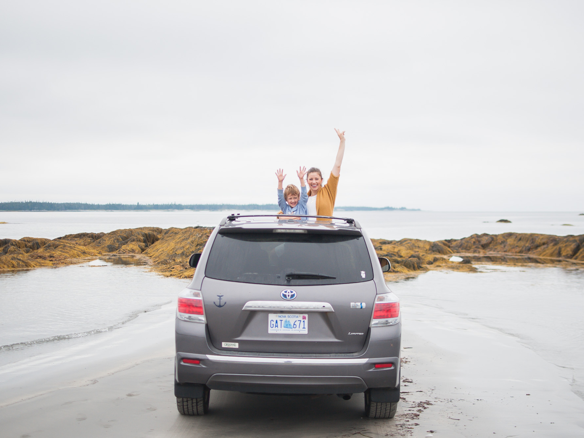Wild Rosebuds: Road trip to Crescent Beach