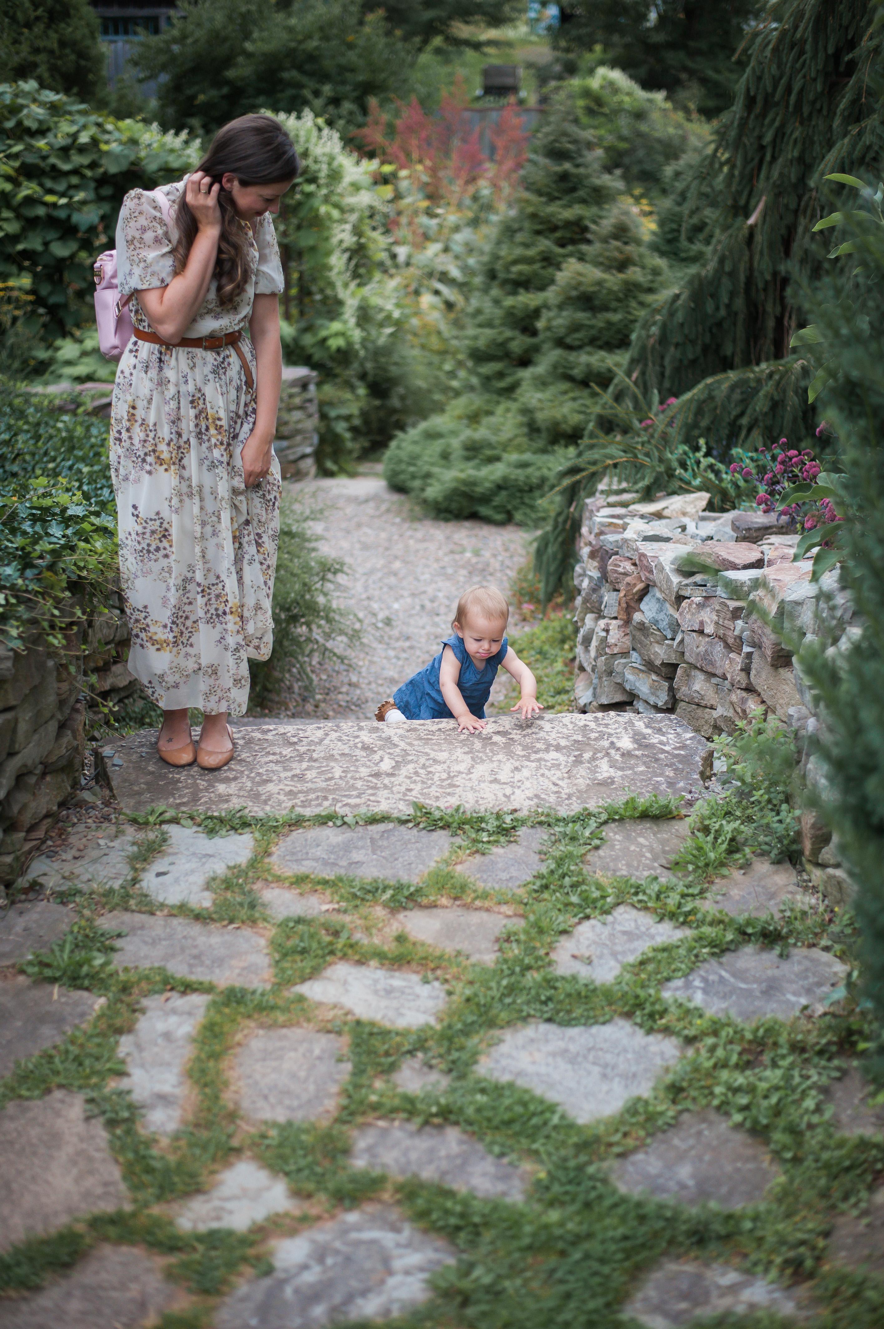 Wild Rosebuds: Trip To Tangled Gardens in Wolfville, Nova Scotia