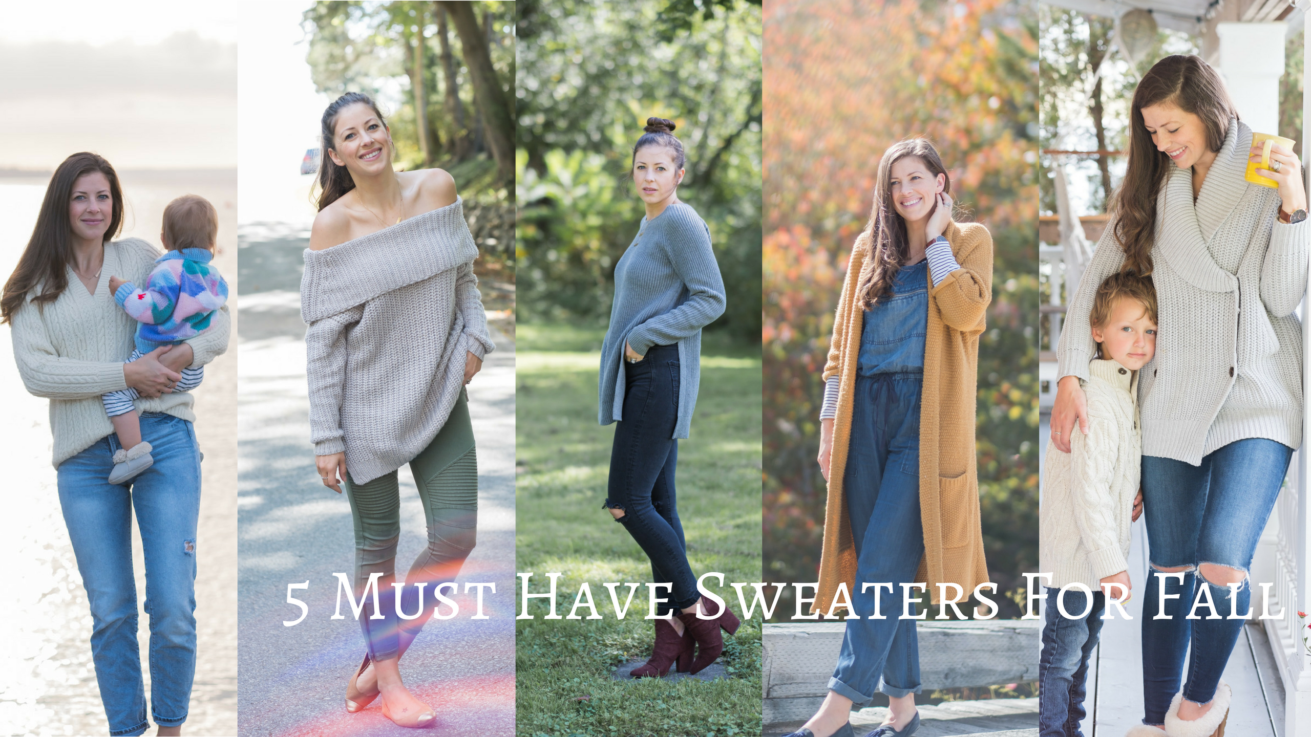 Wild Rosebuds| 5 Sweaters you need For Fall
