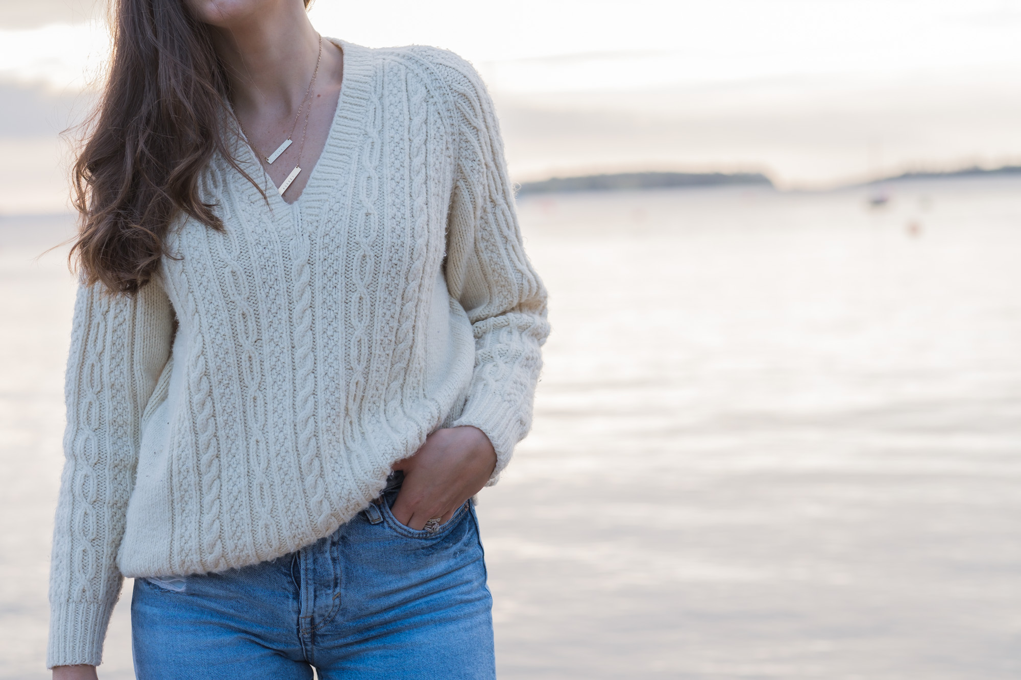 Wild Rosebuds| Homemade knitted sweater