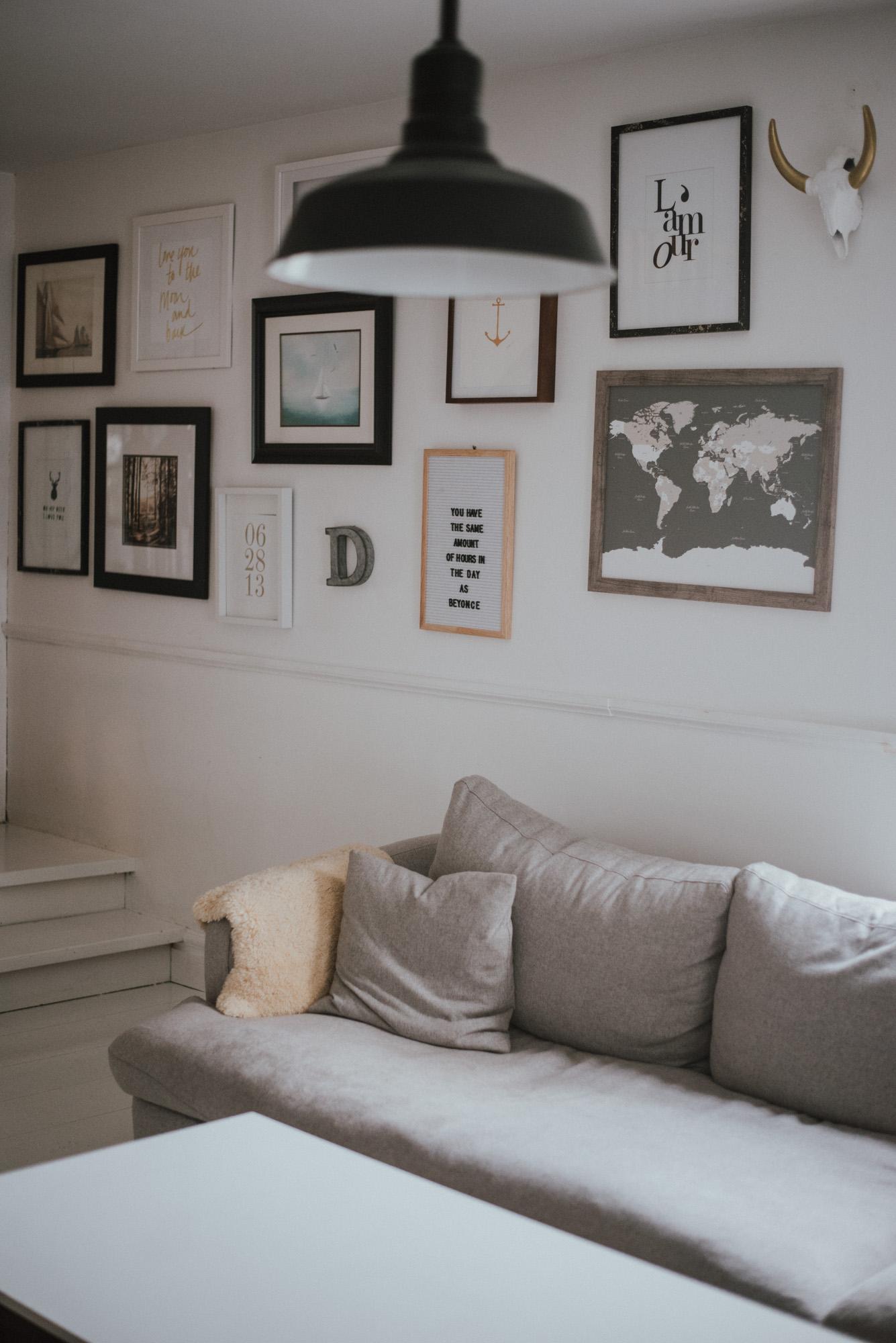 Adding Colour To Our Monochrome Living Room