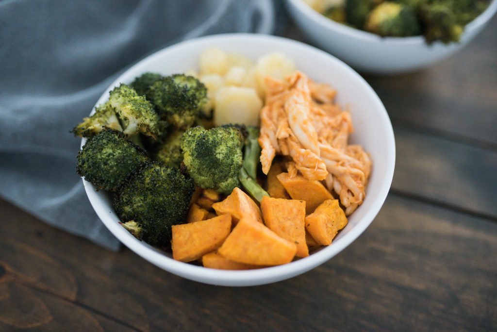 Quick And Easy Paleo Friendly Roast Chicken Bowl