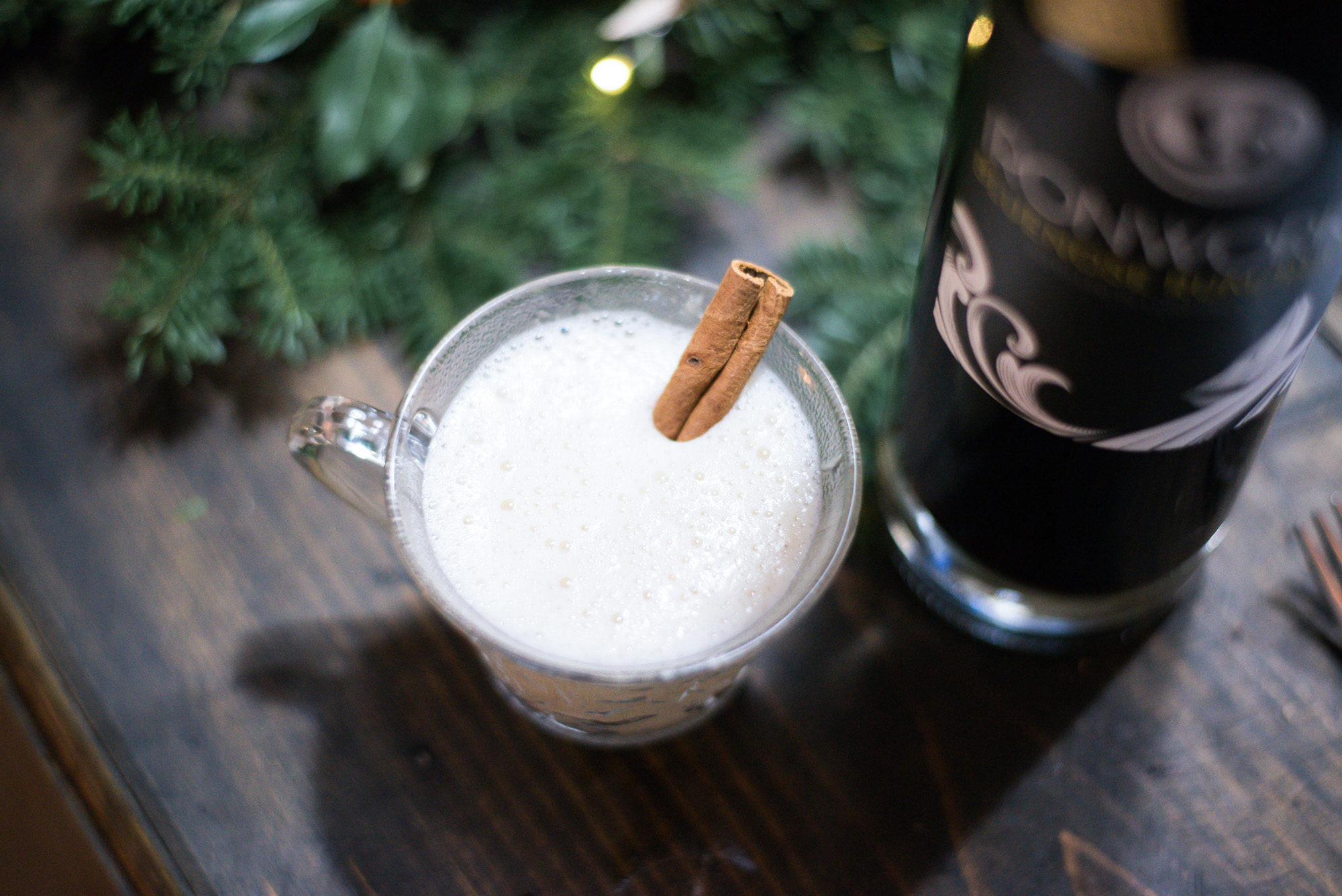 Wild Rosebuds | For the love of getting together with the NSLC | dairy- free, sugar-free eggnog