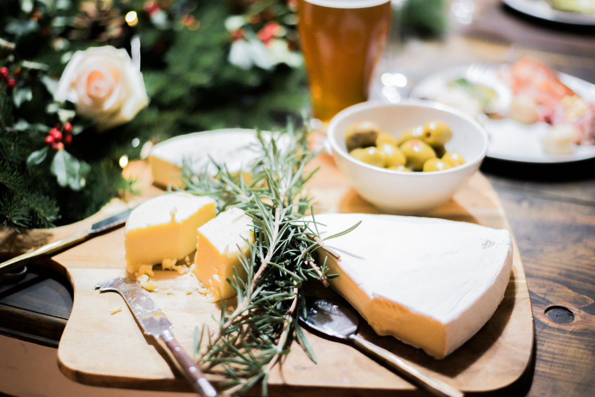 Wild Rosebuds | For the love of getting together with the NSLC | beer with cheese board