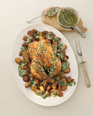 Wild Rosebuds | Friday 10 Things | Roast Chicken with Lemon and Parmesan