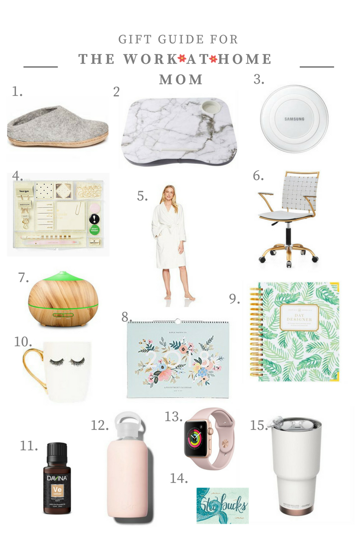 Wild Rosebuds | Gift Guide for the work-at-home mom