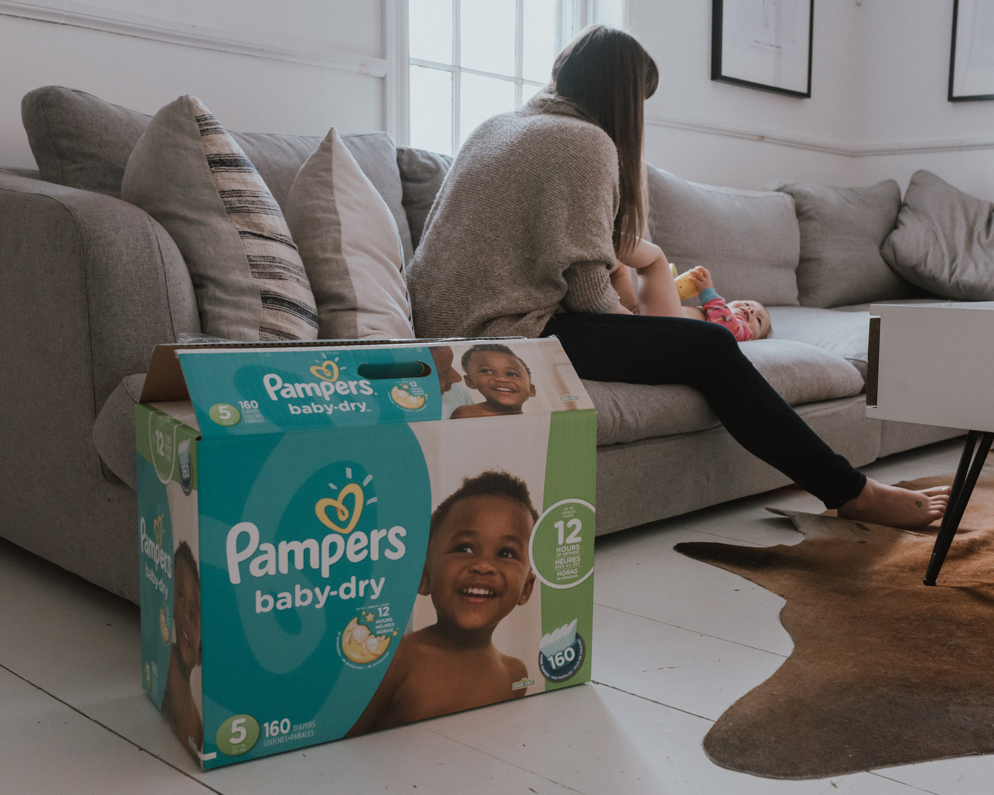 The Wild Decoelis | Pamper Baby Dry Redeigned | the importance of a dry baby and sleep | How Pampers is helping with a new diaper