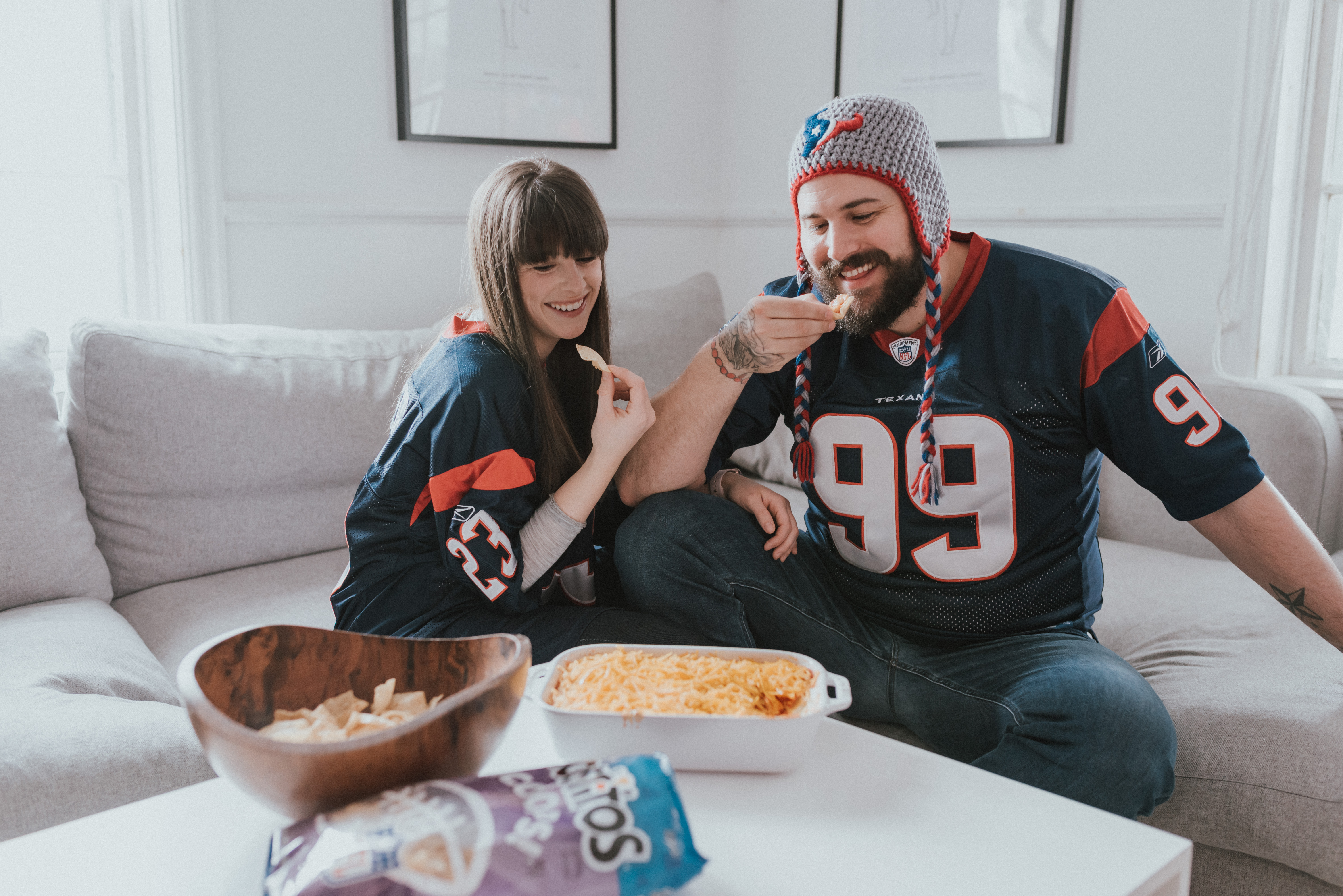 The Wild Decoelis | 3 Recipes for your super bowl party with tostitos