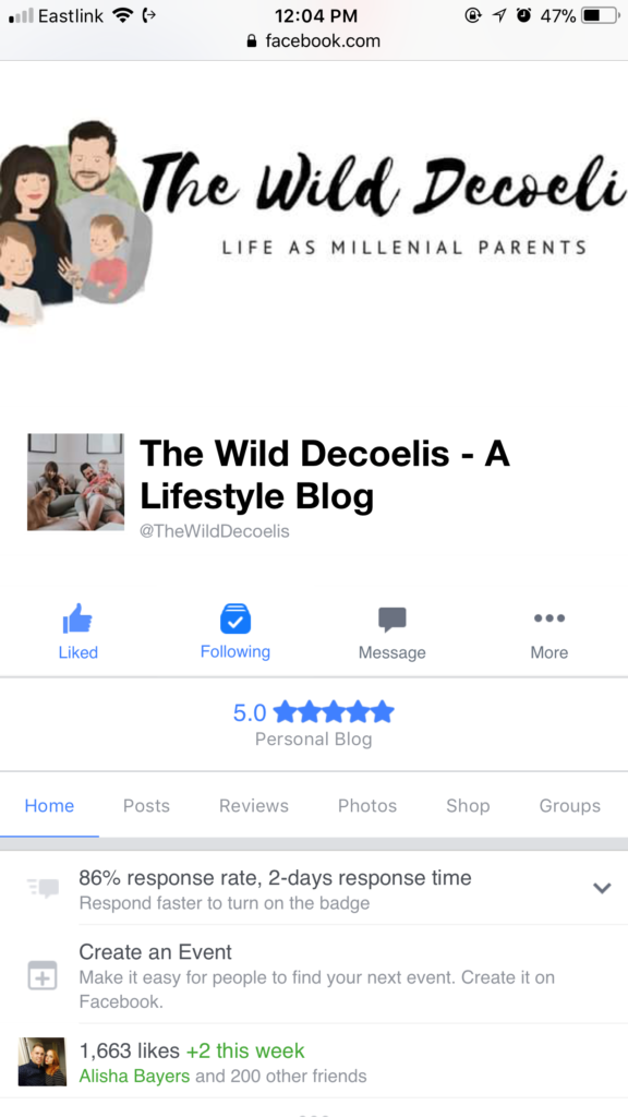 The Wild Decoelis | Follow Us On Facebook