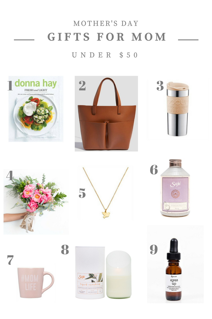 Mother's Day Gift Ideas For Mom Under $50