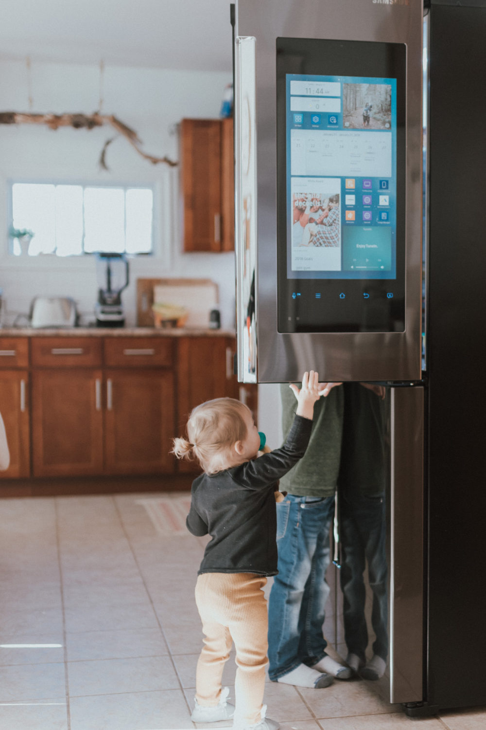 The Wild Decoelis | Review: The Samsung Family Hub | our new fridge