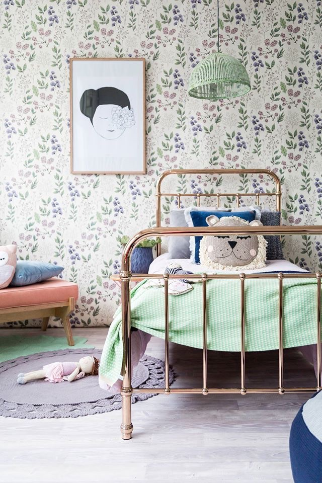 The Wild Decoelis | New House Inspo: Poppy's Room | Vintage inspired little girls room