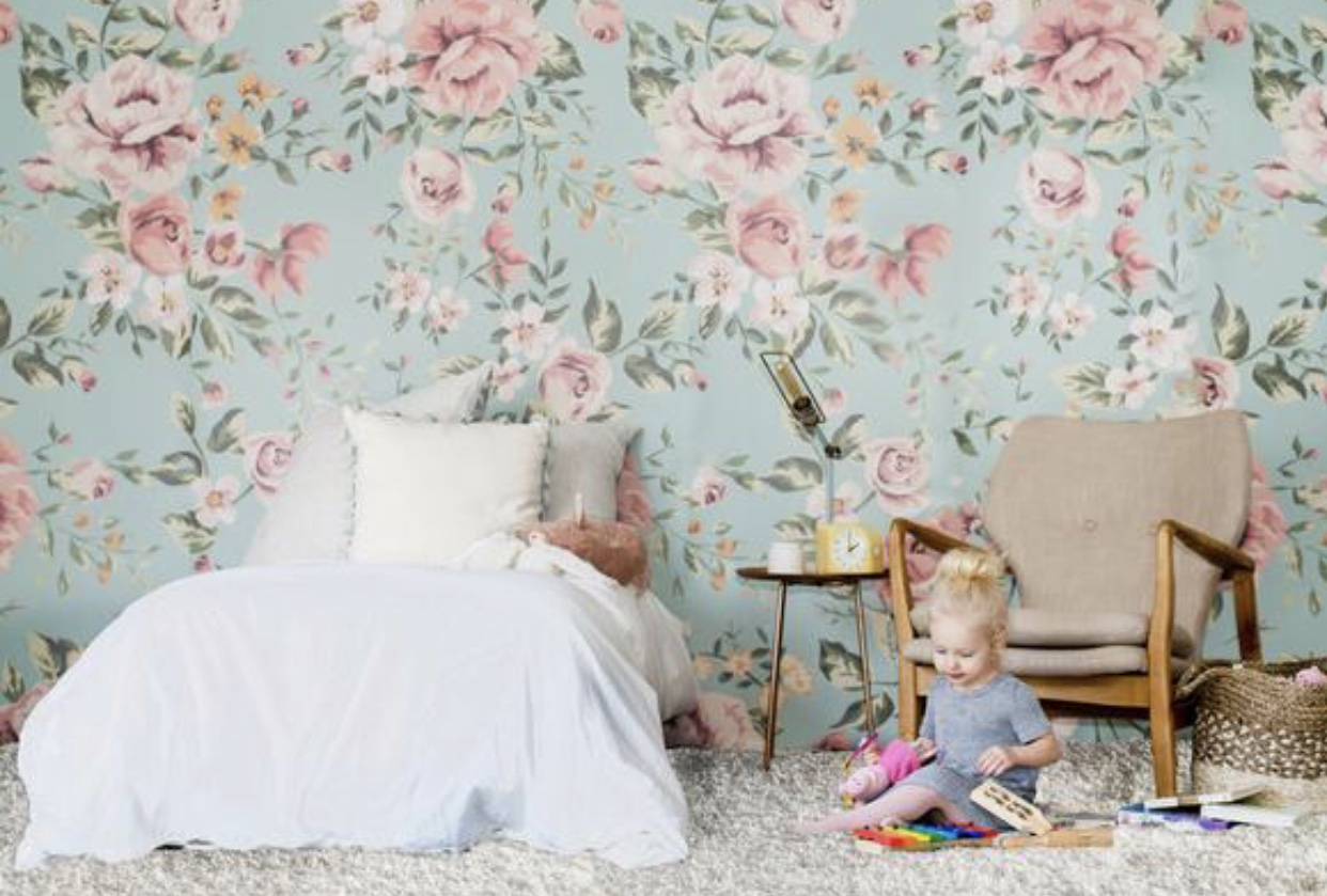 The Wild Decoelis | New House Inspo: Poppy's Room | Anewall Wallpaper