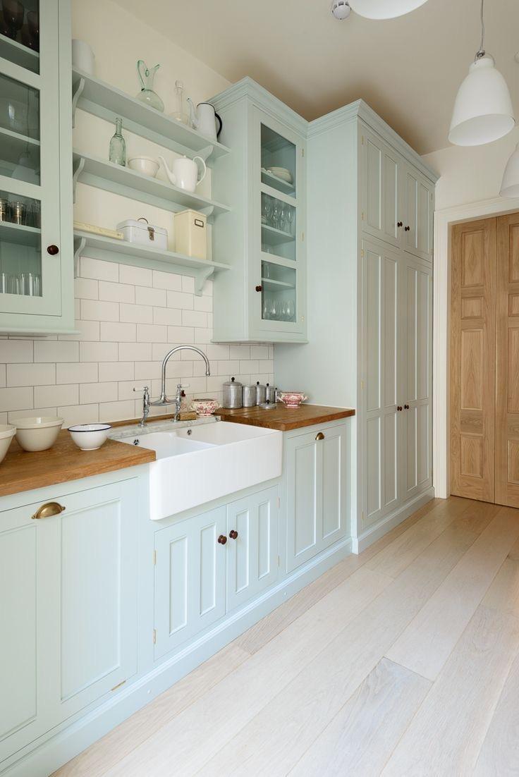 The Wild Decoelis | Kitchen Inspo | robins egg blue kitchen