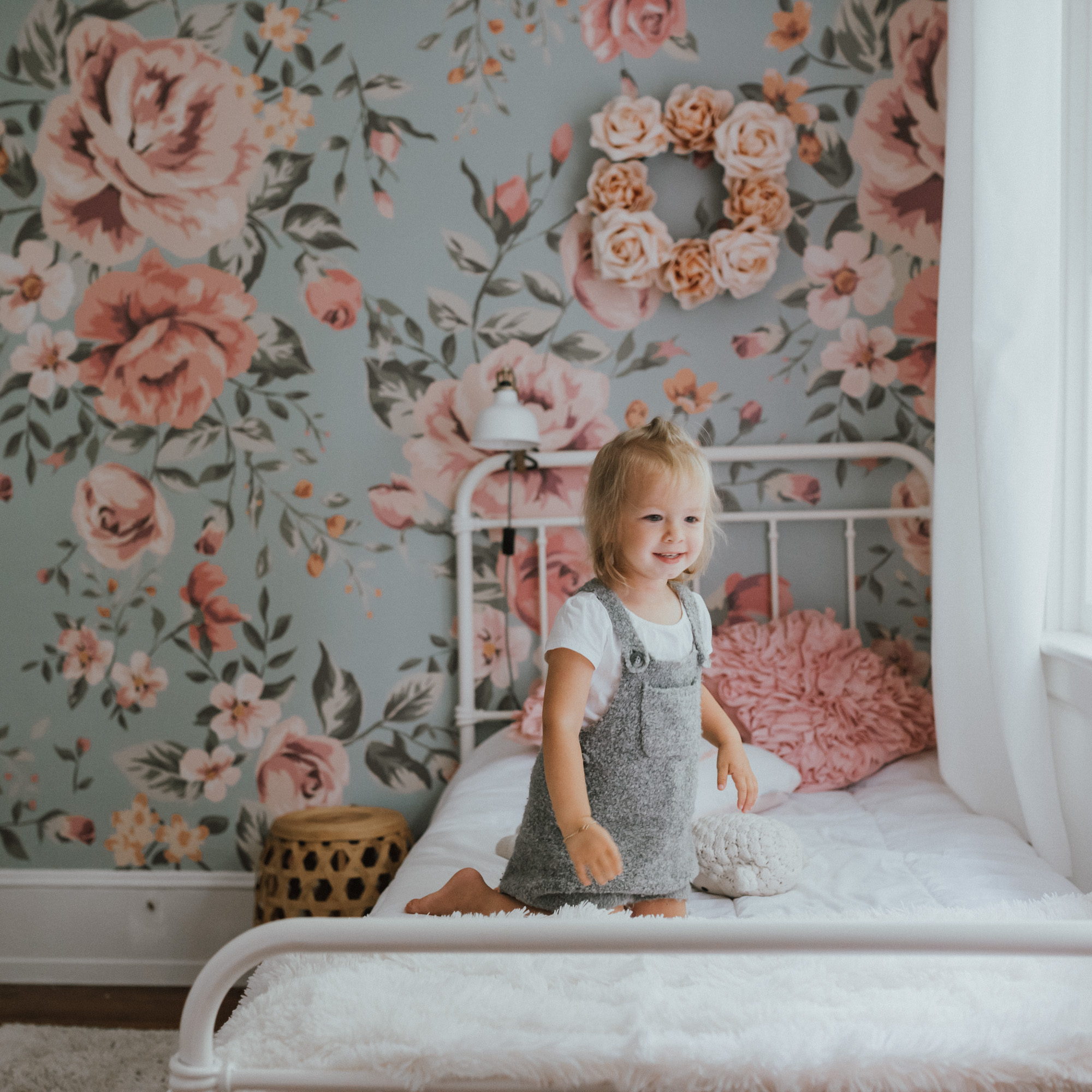 The Wild Rosebuds | We Are Home| Poppys new room | Anewall Mural