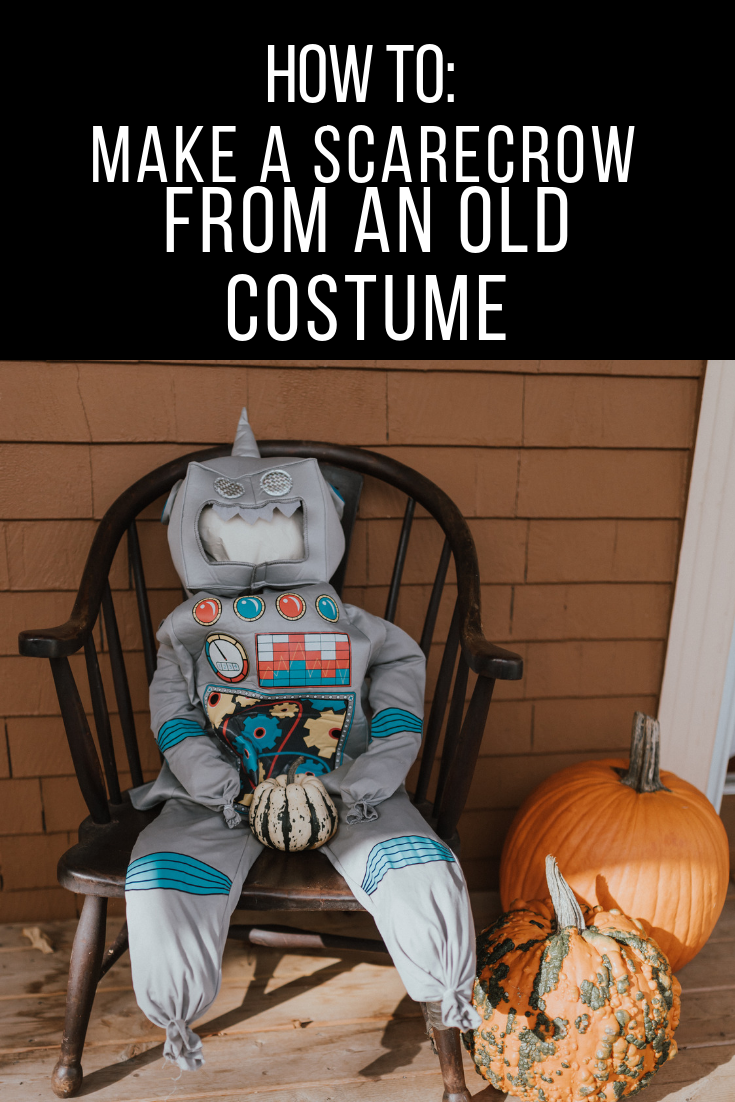 The Wild Decoelis | How To: Turn An Old Halloween Costume Into A Scarecrow