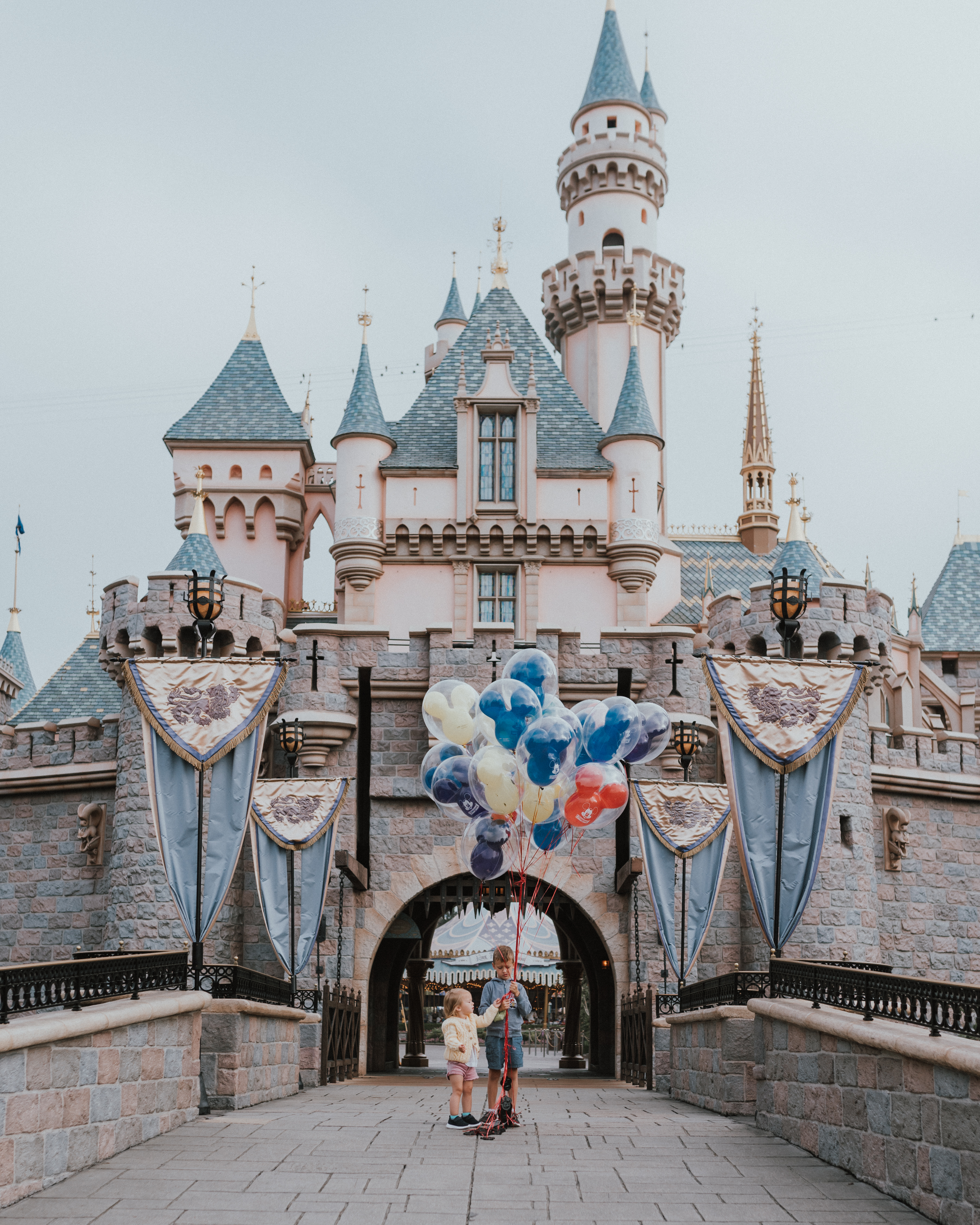10 Things To know When Travelling To DisneyLand with Young Kids | aurora castle