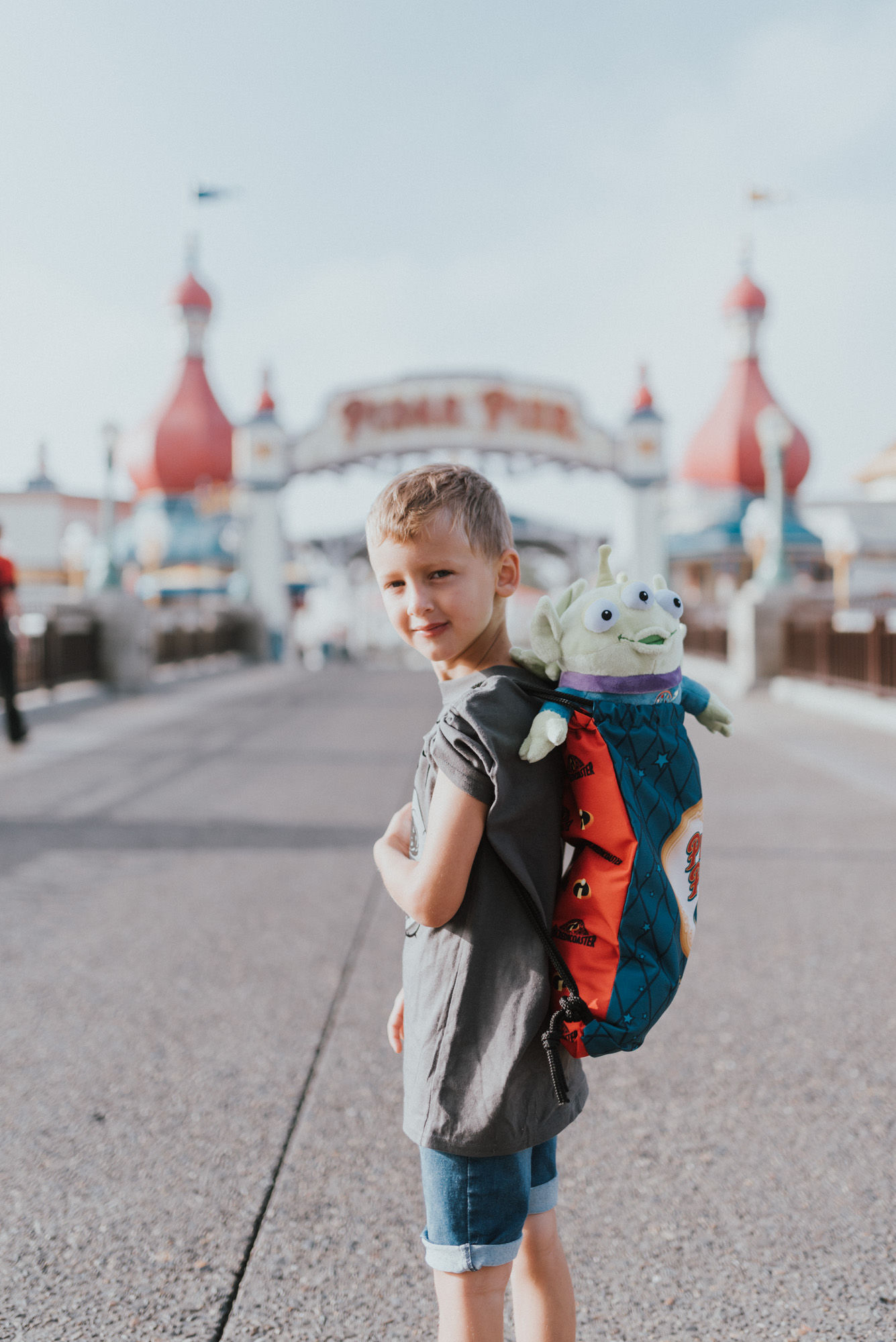 10 Things To know When Travelling To DisneyLand with Young Kids | pixar pier