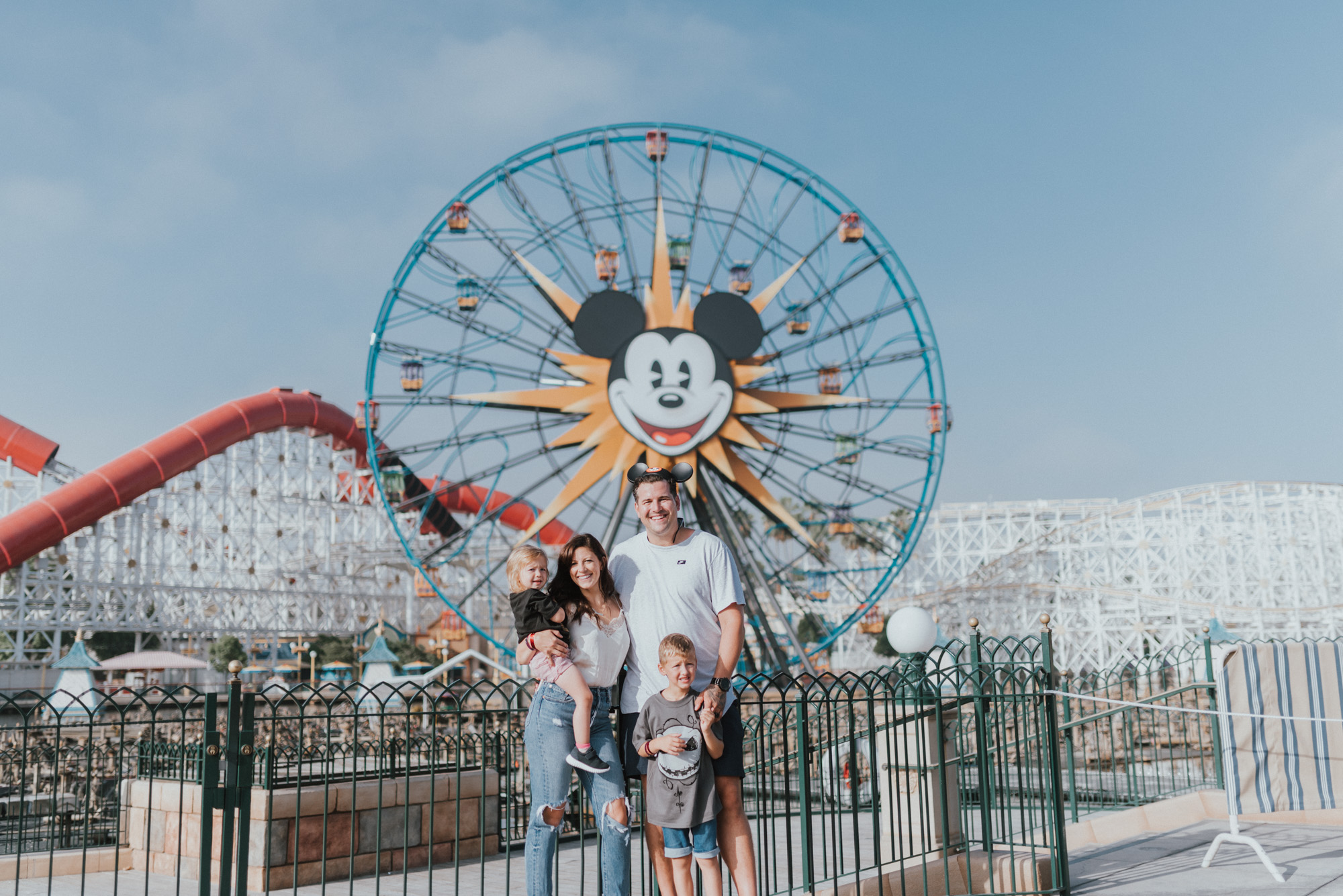 10 Things To know When Travelling To DisneyLand with Young Kids | Pixar Pier and Ferris Wheel