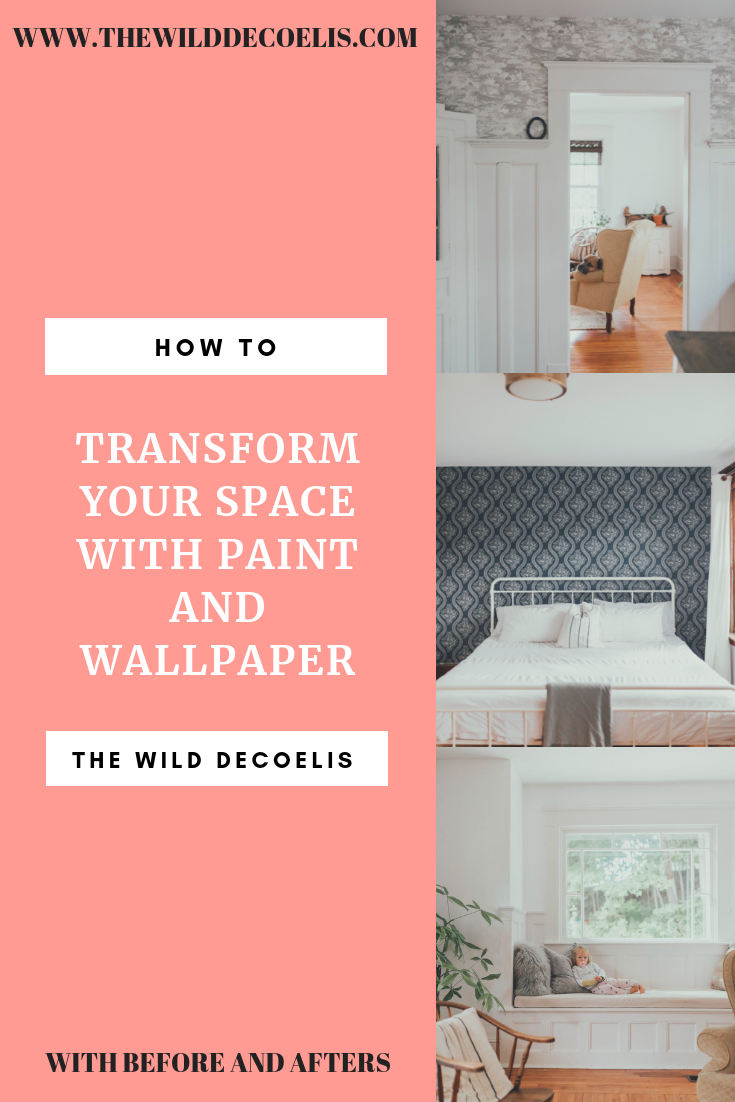 The Wild Decoelis | Paint and Wallpaper: Our Budget-Friendly Way to Make Over a Home With Home Depot