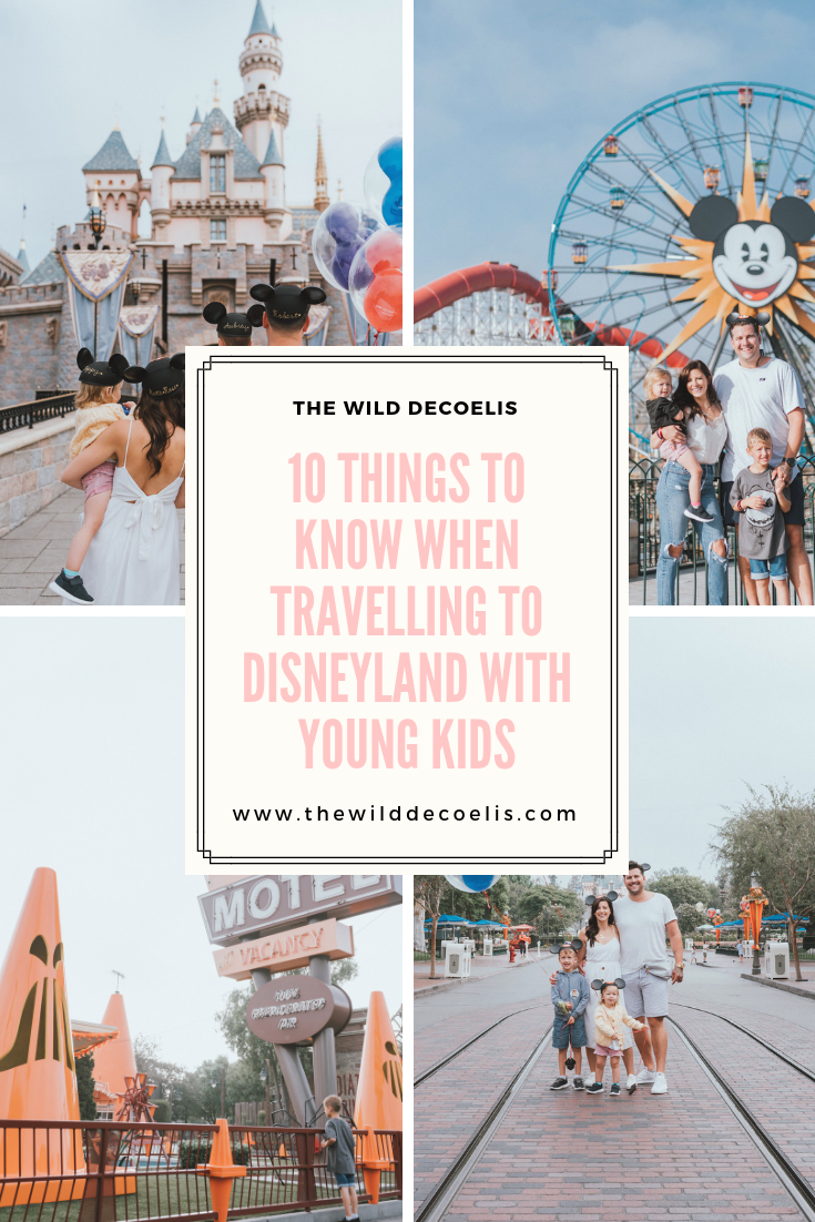 10 Things To know When Travelling To DisneyLand with Young Kids