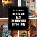 The Wild Decoelis | 8 quick and easy DIY Halloween Decorations