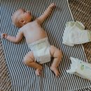 Why Using Plant-Derived Diapers Does Not Equal Blowouts | the wild decoelis | organic wipes and diapers