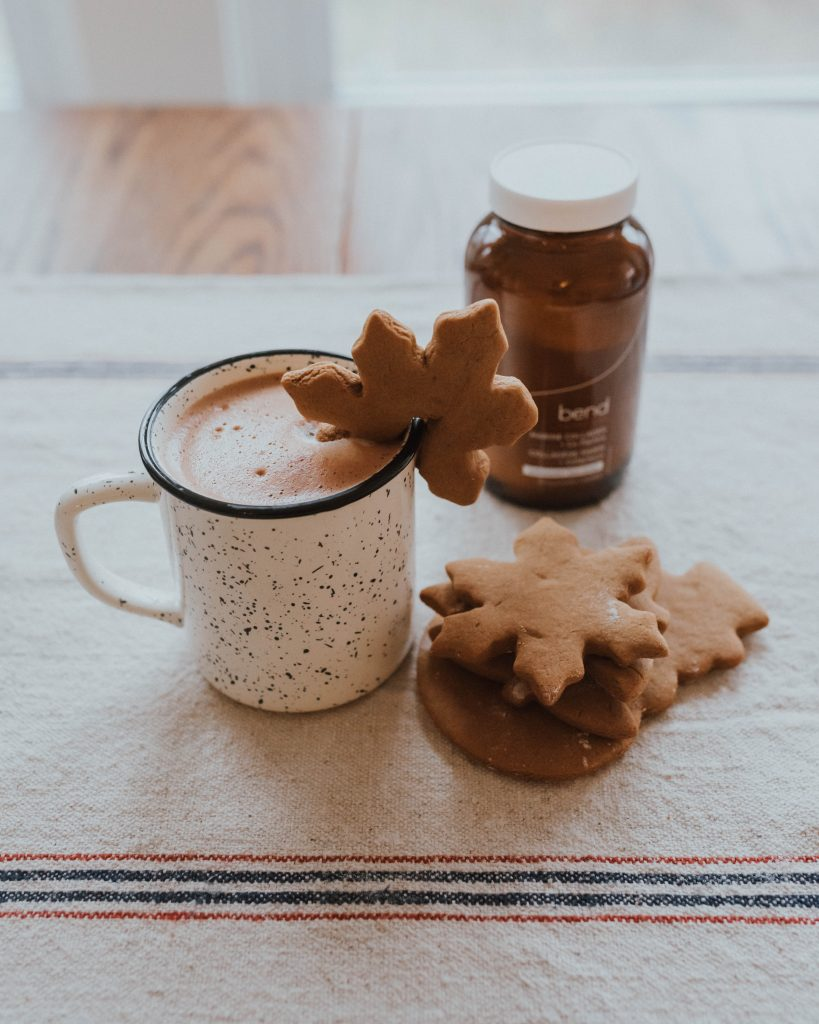 Coconut Collagen Super Hot Chocolate | The Wild Decoelis | Bend Collagen and co-factors