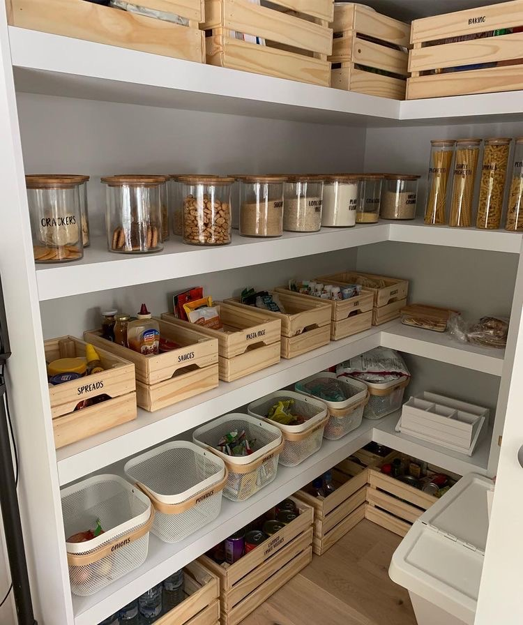The Wild Decoelis | 7 Easy Tips for Organizing Your Pantry | ikea overhaul